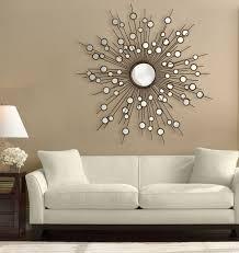 wohnzimmer wanddekoration mit spiegeln haus dekoration