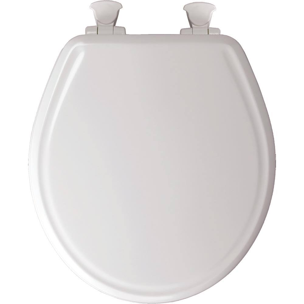 Bemis Manufacturing Molded Wood Toilet Seat - White