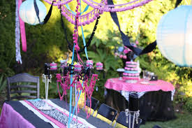 Sweet Backyard Party Decorations Mixed With Round Table And ... Backyards Awesome Decorating Backyard Party Wedding Decoration Ideas Photo With Stunning Domestic Fashionista Al Fresco Birthday Sweet 16 Outdoor Parties Images About Paper Lanterns Also Simple Garden Rainbow Take 10 Tricia Indoor Carnival Theme Home Decor Kid 39s Luau Movie Night Party Ideas Hollywood Pinterest Design Deck Kitchen Architects Deck Decorations For Anniversary