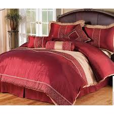 Bed Skirts Queen Walmart by Discontinued 7 Pc Comforter Set Red Gold Queen Walmart Com