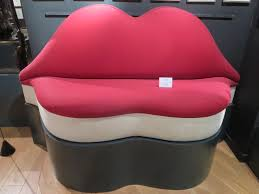 Mae West Lips Sofa Salvador Dali 1937 by Best Of Salvador Dali Mae West Lips Sofa Furniture Designs