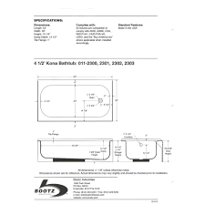 54 X 27 Bathtub With Surround by Articles With American Fiberglass 54 X 27 White Bathtub Tag