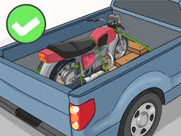 100 Truck Bed Motorcycle Lift How To Haul A 11 Steps With Pictures WikiHow