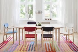 bunte stühle im esszimmer stuhl teppich buntertep