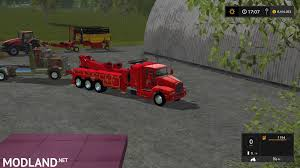 Kenworth Tow Truck Mod Farming Simulator 17 Fire Truck For Farming Simulator 2015 Towtruck V10 Simulator 19 17 15 Mods Fs19 Gmc Page 3 Mods17com Fs17 Mods Mod Spotlight 37 More Trucks Youtube Us Fire Truck Leaked Scania Dumper 6x4 Truck Euro 2 2017 Old Mack B61 V8 Monster Fs Chevy Silverado 3500 Family Mod Bundeswehr Army And Trailer T800 Hh Service 2019 2013 Tow