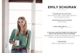 Emily Schuman Talks Cupcakes And Cashmere