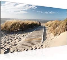 wandbilder strand modern vlies leinwand wohnzimmer flur meer