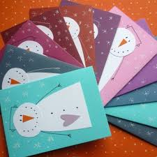 Cool Things To Make At Home Eleven Cards Made From Cardboard In Different Colors Crafts