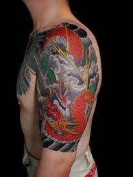 A Design Which Is Heavily Inspired By The Chinese Culture Shows Typical Dragon Braving Dark Sky Symbolises Creature Having