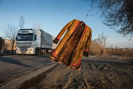 100 Brown Line Trucking On The Ancient Silk Road A Walk Shadowed By A Mystery