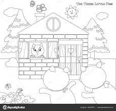 Coloriage Les Trois Petits Cochons 9 Peur Des Porcelets Image 60