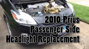2010 prius passenger side headlight replacement