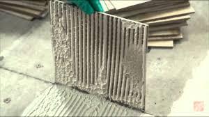 Thinset For 12x24 Porcelain Tile by Installing Ceramic And Porcelain Floor Tile Step 6 Test Your