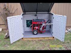 outdoor generator shed bing images generator enclosure