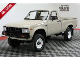 100 1982 Toyota Truck Pickup For Sale ClassicCarscom CC1071804