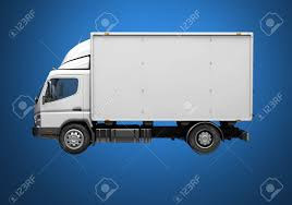 100 Truck Courier 3d Service Delivery Icon With Blank Sides Ready