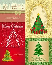 Kinds Of Christmas Trees by All Kinds Of Cartoon Christmas Tree Vector Free Vector In