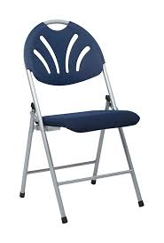 100 Blue Plastic Folding Chairs Amazoncom Office Star Ventilated Fan Back Chair