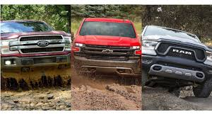 Ford F-150, Ram 1500, Chevy Silverado Go To War
