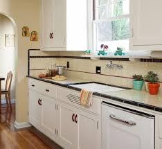 Accent Tiles For Kitchen Backsplash Backsplash Progression Design For The Arts Crafts House