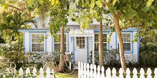 Smart Placement Affordable Small Houses Ideas by Fifi Oneill Florida Tiny House Colorful Cottage Decorating Ideas