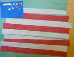 Simple American Flag Craft