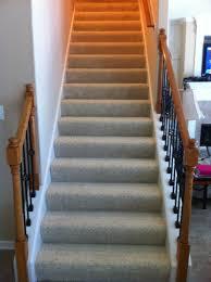 carpet or tile on stairs carpet