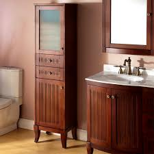 Tall Bathroom Cabinets Freestanding by Bathroom Excellent Best Linen Cabinet For Bathrooms Design Ideas