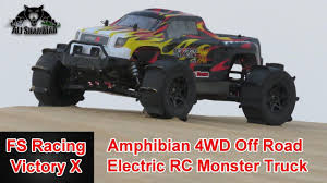 FS Racing Victory X Amphibian 4WD Electric RC Monster Truck | Radio ... Rc Monster Truck Challenge 2016 World Finals Hlights Youtube Freestyle Trucks Axles Tramissions Team Associated Releases The New Qualifier Series Rival Monster Remote Control At Walmart Best Resource Bfootopenhouseiggkingmonstertruckrace6 Big Squid Traxxas Xmaxx Review Car And 2017 Summer Season Event 6 Finals November 5 Truck 15 Scale Brushless 8s Lipo Rc Car Video Of Car Madness 17 Promod Smt10 18 Scale Jam Grave Digger Playtime In Mud Bogging Unboxing The