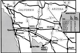 Map Of San Felipe Baja California Mexico
