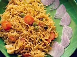 biryani indian cuisine veg biryani recipe mangalorean style spicy veg biryani recipe