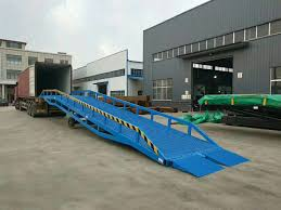 100 Truck Loading Ramps Portable Ramp Hydraulic Container Dock Material