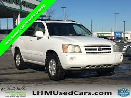 100 Used Utility Trucks For Sale PreOwned 2001 Toyota Highlander Sport In Sandy S5874A