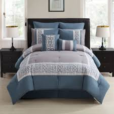 Grey Blue Bedding Sets humanefarmfunds