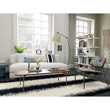 piazza sofa black rug room and living rooms