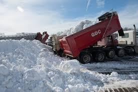 100 Local Dump Truck Jobs Postblizzard Dilemma Where To Put All That Snow The Washington Post