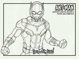Ant Man Coloring Pages 9