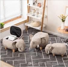 großhandel aufbewahrungshocker schuhe elefant ändern wohnzimmer sofa fuß stuhl tuch paket holz moderne hocker neue ankunft möbel meow householdes