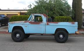 Nice Patina 1968 Dodge Power Wagon W100 Fleetside Short Bed Vintage ...