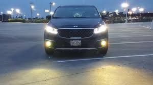 3000k fog lights and headlights replacement on a 2015 sedona ex