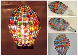 chandelier inspired glass bead light bulb candle bulb