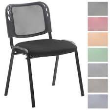 chaise visiteur bureau chaise visiteur empilable bureau fauteuil mailles métal