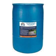 55 Gal Drum of Calcium Chloride Liquid for Dust Control 1S CACL