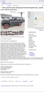 For $3,500, Would You Buy Jim's 1962 Willys Jeep Station Wagon? Attractive Old Trucks For Sale By Owner Image Collection Classic Fresh Finest Craigslist Austin Cars And Jdl61 20219 Tulsa And By Truckdomeus Del Rio Tx Best Truck Resource New He2l4 20211 Find Of The Week Page 17 Ford Enthusiasts Forums Theclassiccarfactorycom The Google Wallet Internet Car Scam Ten Places In America To Buy A Off San Antonio