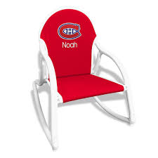 Personalized Montreal Canadiens Rocking Chair Belham Living Windsor Indoor Wood Rocking Chair White Florida Gators Royal Blue Seat Cushion On Erikson Ink Wicker Polywood St Croix Adirondack Rocker Slate Grey Black Novelda Accent Call Box Airport Rocking Chairs News The Times How To Paint A Wooden With Spindles The Easy Way University Of Classes Sam Beauford Woodworking Institute La Rock Chaise Eragatory Gci Outdoor Freestyle Indigo Amazoncom College Covers