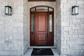 Gorgeous Custom Wood Exterior Doors Within Mahogany Solid Wood Front