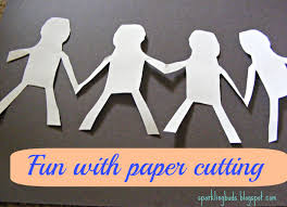 We Got A Chance To Get Introduced Papercutting It Is An Art Of Cutting Designs In Paper Started With The Template And Ended Creating Our Own