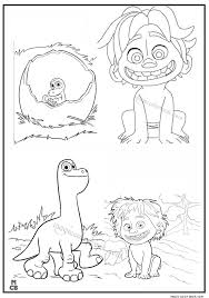 Good Dinosaur Coloring Pages Free Printable 42