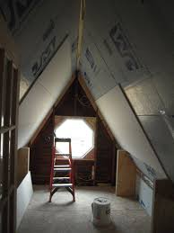 Insulating Cathedral Ceiling With Foam Board by Foil Faced Foam Insulation Adventures In Remodeling