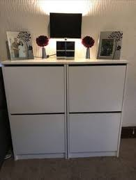 ikea bissa hack we replaced the top of two bissas shoe cabinets
